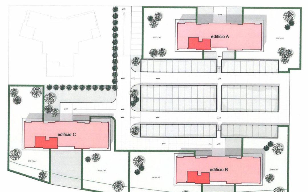 Gaggiano (MI) costruzione del 3° lotto: 23 alloggi